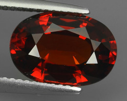 5.80 CTS MARVELOUS RARE NATURAL SPESSARTINE OVAL CUT