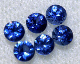 0.78 CTS SRI LANKAN  SAPPHIRES FACETED PARCEL PG-2793