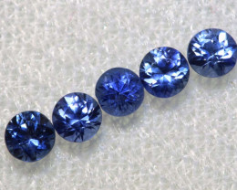 0.80 CTS SRI LANKAN  SAPPHIRES FACETED PARCEL PG-2796