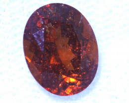 2.28 -CTS HESSONITE  GARNET FACETED GEMSTONE PG-2799