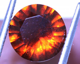 3.58 -CTS HESSONITE  GARNET FACETED GEMSTONE PG-2801