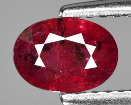 0.82 Ct Aig Cert Ruby Unheated Mozambique Quality Gemstone