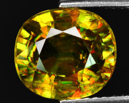4.11 CT SPHENE WITH DRAMATIC FIRE GEMSTONE SP12