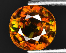 3.11 CT SPHENE WITH DRAMATIC FIRE GEMSTONE SP17