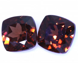 2.90 CTS NATURAL ZIRCON FACETED PAIR PG-2823