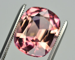 Brilliant Color 7.35 Ct Natural Pink Tourmaline. TA