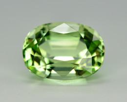 Top Grade 6.00 Ct Natural Mint Green Tourmaline. TA