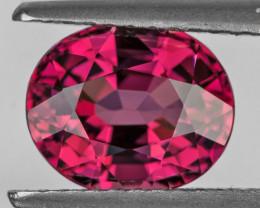 8.5x7 mm Oval 2.45cts Pink Rhodolite Garnet [VVS]