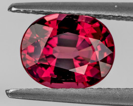 9x7 mm Oval 2.58cts Pink Rhodolite Garnet [VVS]
