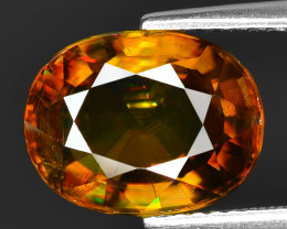 Mind Blowing Fire 4.54 Cts Chrome Sphene ~ SP1
