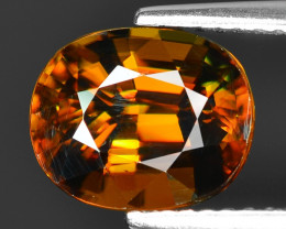 Mind Blowing Fire 3.39 Cts Chrome Sphene ~ SP3
