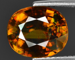 Mind Blowing Fire 3.77 Cts Chrome Sphene ~ SP6