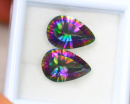 5.38Ct Mystic Topaz Pear Cut Lot B917