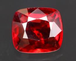 Red Spinel 1.45Ct Natural Burmese Mogok Red Spinel BR35