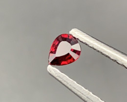 """NR"" Pigeon Blood Natural Ruby Untreated/Unheated 0.25 Carats"