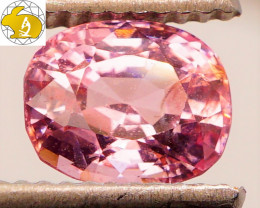 Cert. Unheated 1.82 CT Pink Mahenge Spinel $600 FREE DHL Shipping!