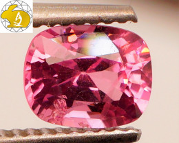 Cert. Unheated  1.35 CT Pink Mahenge Spinel $600 FREE DHL Shipping!