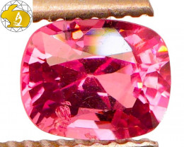 Cert. Unheated  1.35 CT Pink Mahenge Spinel $600 FREE SHIPPING!