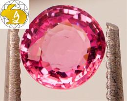 GLOWING! Unheated 1.20 CT Neon Purple Mahenge Spinel $360 FREE DHL Ship!