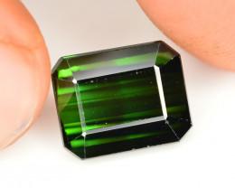 Marvelous Color 4.90 Ct Natural Greenish Tourmaline