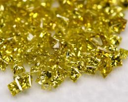 3.09Ct Princess Cut Fancy Diamond Lot BM125