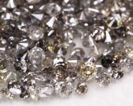 2.55Ct  White Fancy Diamond Lot BM129