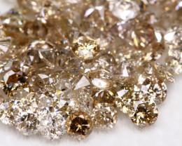 5.06Ct Light Brown Fancy Diamond LotBM131