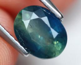 Sapphire 1.31Ct Parti Sapphire Natural Color C0108