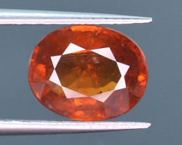 3.15 ct Natural Fanta Orange Color Spessartite Garnet AD