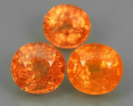 4.15 Cts Unheated Natural Orange Spessartite Garnet Namibia Gem
