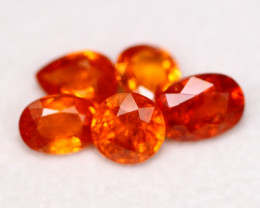 Mandarin 6.15Ct Natural Orange Color Spessertite A0203