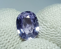 NO HEAT 1.20 CTS NATURAL STUNNING PURPLE BLUE SAPPHIRE CEYLON
