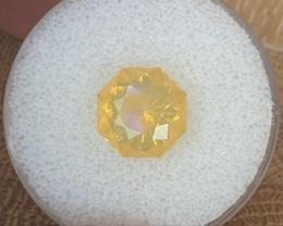 4,82ct Fire Opal - Colour flashes & Master cut!