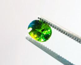 3.27 Ct CERTIFIED NATURAL Madagascar Green Sapphire Gemstone
