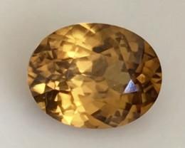 Pretty Golden Yellow Zircon - Sri Lanka  H649