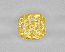 Yellow Sapphire, 5.29ct - Mined in Sri Lanka | Certified by IGI