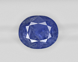 Blue Sapphire, 13.37ct - Mined in Burma | Certified by IGI