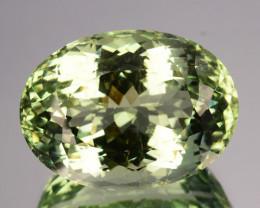 24.40 Cts Natural Green Beryl Aquamarine Oval India Gem
