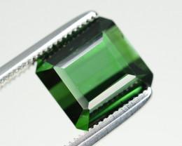 Top Color 3.75 Ct Natural Green Tourmaline