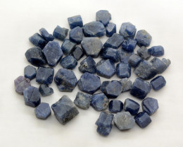 385 Ct Double Terminated Sapphire Crystals