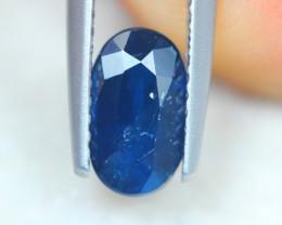 1.32Ct Natural Blue Sapphire Oval Cut Lot A832