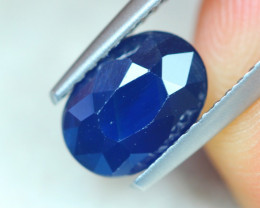 1.85Ct Natural Blue Sapphire Oval Cut Lot A829