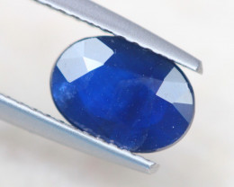 1.58Ct Natural Blue Sapphire Oval Cut Lot A826