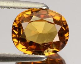 2.54 Cts Natural Golden Orange Zircon Oval Cut Tanzania