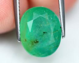 Emerald 4.88Ct Vivid Green Zambian Emerald B0309