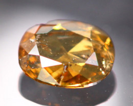 0.39Ct Fancy Cognac Color Natural Diamond BM114