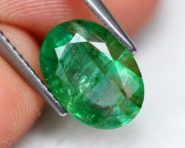 Emerald 2.29Ct Natural Green Zambian Emerald AF0304