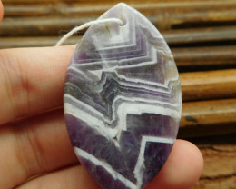 Amethyst pendant bead (G0992)