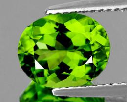 9x7 mm Oval 2.50cts Green Peridot [VVS]