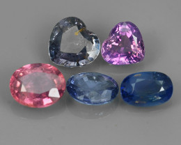 3.40 CTS FANCY NATURAL FANCY SAPPHIRE FACETED AFRICA